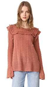Love Sam Bib Front Sweater
