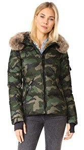SAM. Camo Blake Down Jacket