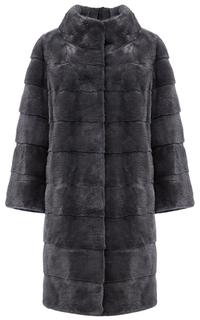 Пальто из аукционного меха норки KOPENHAGEN FUR Fellicci