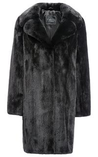 Пальто из аукционной норки KOPENHAGEN FUR с поясом Fellicci