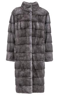 Пальто из аукционного меха норки KOPENHAGEN FUR De la Manie