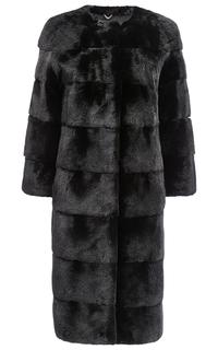 Пальто из аукционного меха норки BLACKGLAMA Fellicci