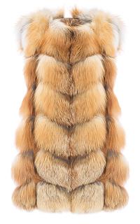 Жилет из меха лисы Fellicci