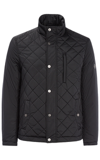 Черная куртка на синтепоне Jorg Weber