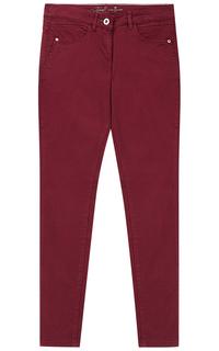 Бордовые брюки Tom Tailor