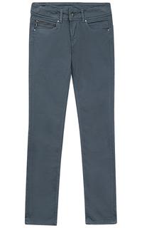 Женские серые брюки Pepe Jeans London