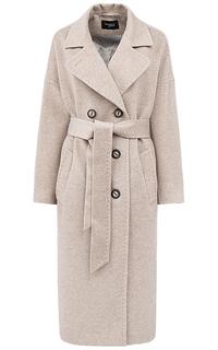 Шерстяное пальто с поясом Gamelia Experience