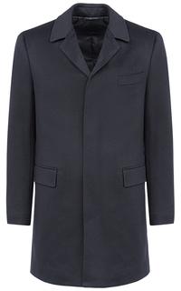 Мужское шерстяное пальто на синтепоне Al Franco