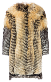 Шуба из меха лисицы Virtuale Fur Collection