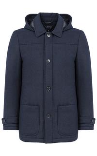 Мужское полушерстяное пальто на синтепоне Al Franco