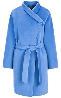Голубое пальто-халат La Reine Blanche
