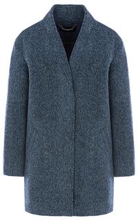 Фактурное полушерстяное пальто La Reine Blanche