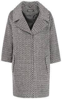 Твидовое пальто с английским воротником La Reine Blanche