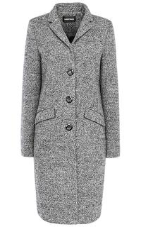 Твидовое пальто на пуговицах La Reine Blanche