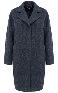 Полушерстяное пальто О-силуэта La Reine Blanche