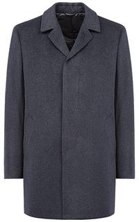 Полушерстяное пальто на синтепоне Al Franco