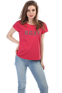 Футболка женская Roxy Sh W Tee Red Bud