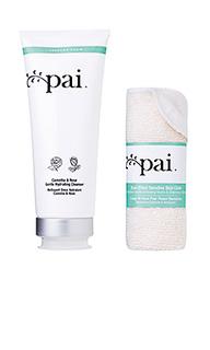 Увлажняющий очищающий крем camellia and rose - Pai Skincare