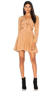 Платье с длинным рукавом elsa - SIR the label