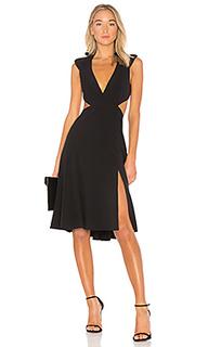Легкое платье с v-вырезом - Halston Heritage