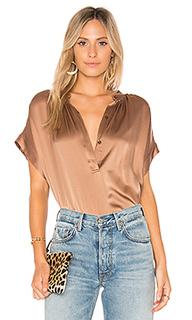 Блуза со складками - Vince
