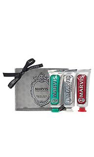 Дорожный набор зубных паст travel - Marvis