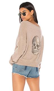 Свитер с широким вырезом lou - 360 Sweater