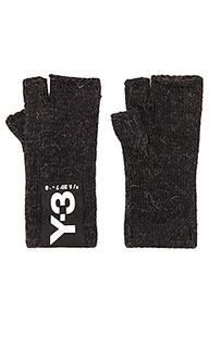 Перчатки badge - Y-3 Yohji Yamamoto