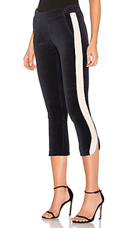 Спортивные брюки с бархатными полосками по бокам - 525 america