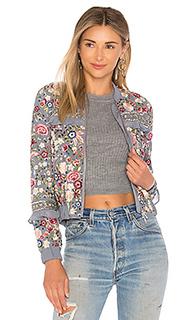 Куртка бомбер floral jet - Needle & Thread