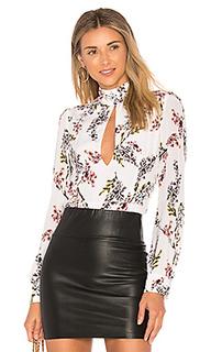 Блуза с вырезом-капля vicki - STONE_COLD_FOX
