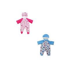 "Комплект одежды для куклы Карапуз ""Комбинезон с шапочкой"", 40-42 см"