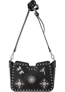 Маленькая сумка из гладкой кожи Cromia