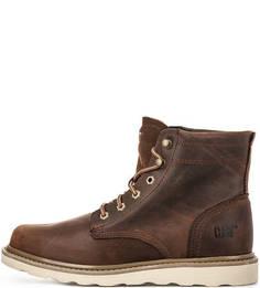 Кожаные ботинки коричневого цвета Caterpillar