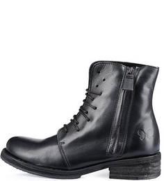 Кожаные ботинки со съемными лентами Felmini