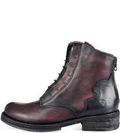 Кожаные демисезонные ботинки Felmini