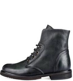Кожаные ботинки на шнуровке Felmini