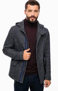 Пальто на молнии с капюшоном Gaudi