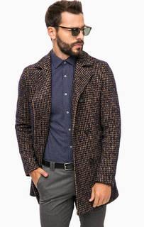 Двубортное пальто с карманами Cinque