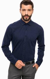 Приталенная рубашка из хлопка Cinque