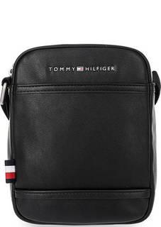 Маленькая кожаная сумка через плечо Tommy Hilfiger