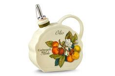 """Бутылка для масла """"Итальянские фрукты"""" Nuova cer"""