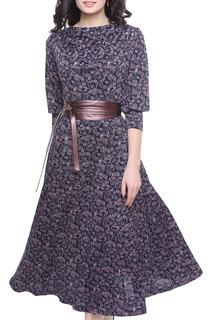 Воздушное платье с принтом Olivegrey