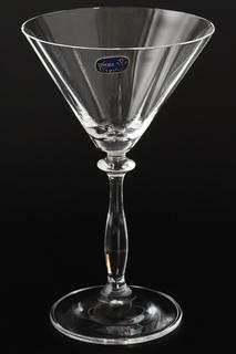 Бокал для мартини 285 мл, 6 шт Bohemia Crystall