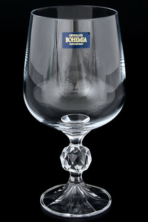 Бокалы для вина 340 мл, 6 шт. Crystalite Bohemia
