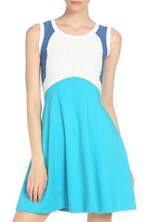 Полуприлегающее платье с пайетками Whos Who
