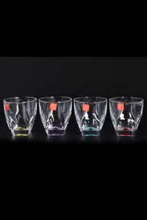 Набор цветных стаканов 4 шт RCR