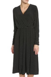 Платье приталенное с V-образный вырезом горловины Alina Assi