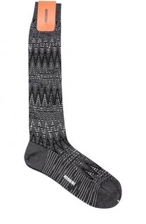 Носки из смеси шерсти и хлопка Missoni