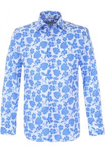 Хлопковая сорочка с принтом Eton